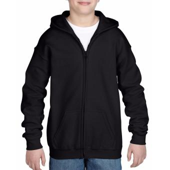 Tailored Plain Hoodie Jacket for kids (Black)