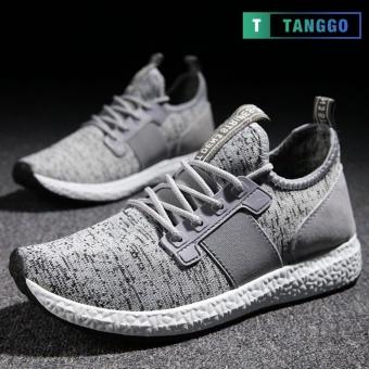 Tanggo 1979 Korean Fashion Sneakers Breathable Canvas Shoes for Men grey