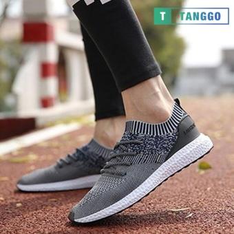 Tanggo Fashion Sneakers Korean Canvas Shoes for Men 923 navy blue/white
