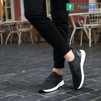 Tanggo Fashion Sneakers Korean Canvas Shoes for Men 923 black