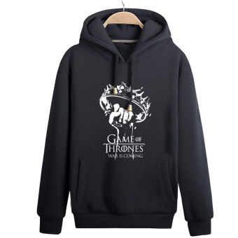 The Iron Throne right game hoodie Black crown
