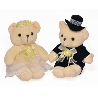 The Wedding Library Wedding Couple Bear Bride & Groom Price Philippines