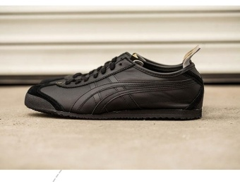 Tiger Loafer Shoes Men's Arthur Tiger Sports Shoes Running shoes MEXICO66 ShoesD7C3L black - intl