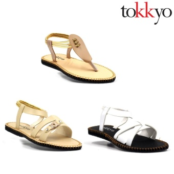 Tokkyo Women's Set of 3 Sandals #11