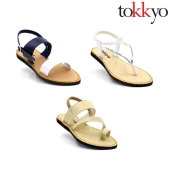 Tokkyo Women's Set of 3 Sandals #14