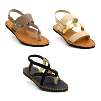 Tokkyo Women's Set of 3 Sandals #3