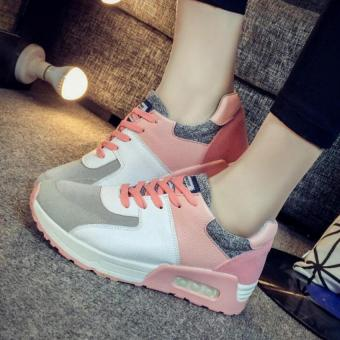 TRENDS Women's casual shoes Sneakers Flat shoes Outdoor sports fitness Running Fashion shoes(Pink) - intl