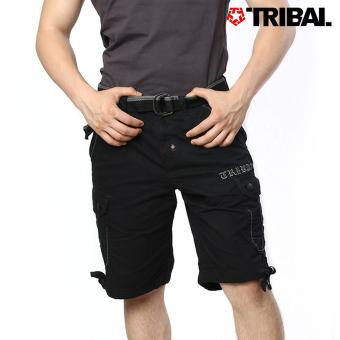 TRIBAL Men's Cargo Shorts Black