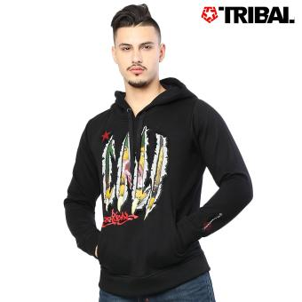 TRIBAL Slasher Jack Trucker Men's Hoodie Jacket Black Diamond