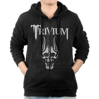 Trivium - Silence In The Snow-01 Men's Full-Zip Hooded Sweatshirt - intl