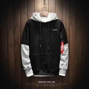 Ulzzang New style men's jackets & coats W17163-black