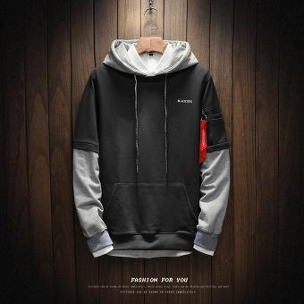 Ulzzang New style men's jackets & coats W17163-dark gray
