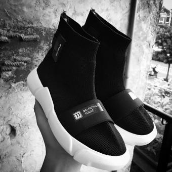 Ulzzang wind stretch shoes wa zi xie