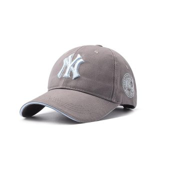 Unisex Men Women Hats Caps Baseball Cap Leisure Joker Sun Hat -Grey - intl Price Philippines