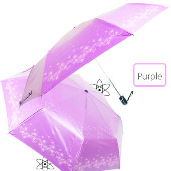 UV Block AUTO Foldable Umbrella (H35)