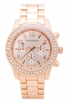 Valentino Women's Rose Gold Metal Alloy Watch 20121726