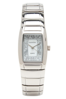 Valentino Women's Silver Metal Alloy Strap Watch 20121817