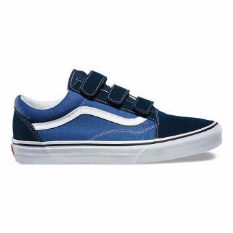 Vans Old Skool V Dress Blues/True Navy Suede/Canvas