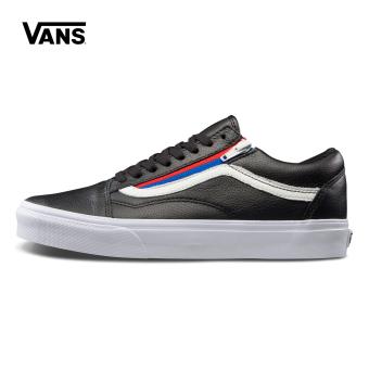 Vans vn0a3493ou8/93ou9 genuine mens shoes casual skateboard shoes Black Men Sneakers Rubber Shoes
