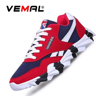 VEMAL Men's Athletics Casual Running Shoes Fashion Walking Sneakers Blade Shoes Red - intl