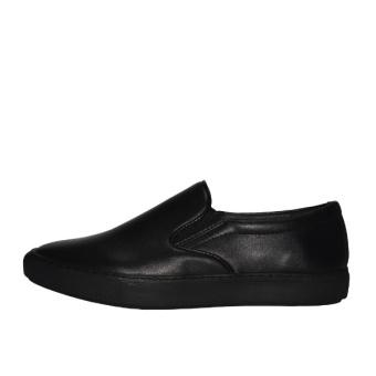 W Brown Men's Footwear Slipon Casual WST661BL Black