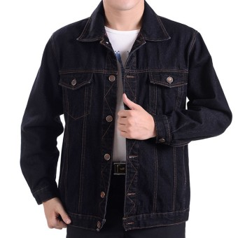 Wear-Resistant welding padded workwear jacket men's tops Black