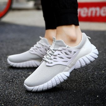 Wild fashion sneakers Men's casual shoes breathable and comforble - intl