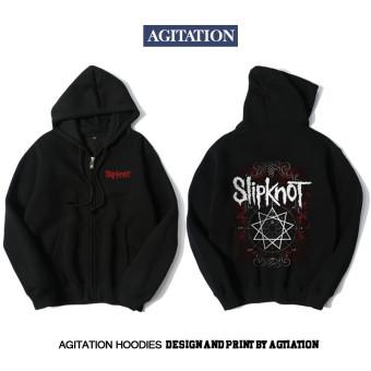 Winter rock solid slipknot sweatshirt long-sleeve cardigan Fashion 1