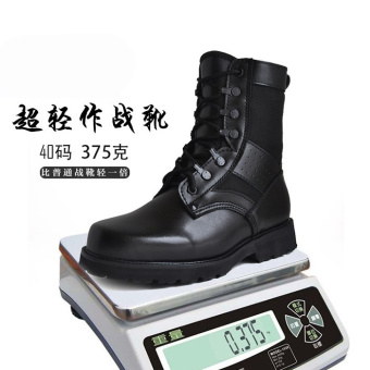 Winter warm wool combat boots Black lightweight combat boots Black lightweight combat boots