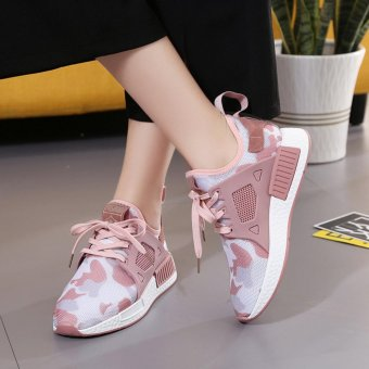 Women Sneakers Fashion Mesh Shoes Summer Casual Sport ShoesBreathable Light ( Pink ) - intl