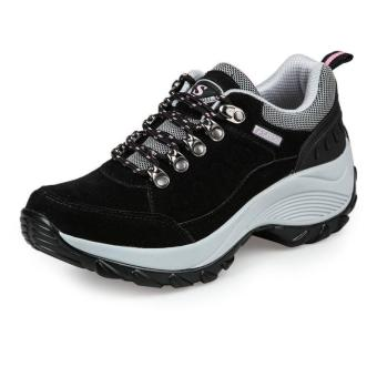 Women Sneakers Fashion Spprt Shoes Running Shoes for Female (Black)- intl