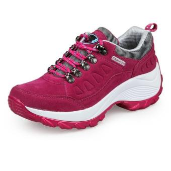 Women Sneakers Fashion Spprt Shoes Running Shoes for Female (Rosered) - intl
