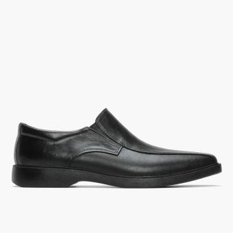 World Balance Easy Soft Mens Brooklyn Dress Loafers (Black)