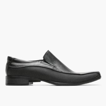 World Balance Easy Soft Mens Gustav Dress Loafers (Black)