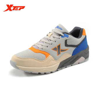 XTEP Original Men's Retro Running Shoes Sneakers Fashion Vintage Outdoor Sports Athletic Shoes Trainers Men Shoes