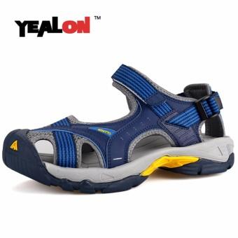 YEALON Outdoor Beach Sandals Men Shoes Waterproof Breathable Footwear - intl