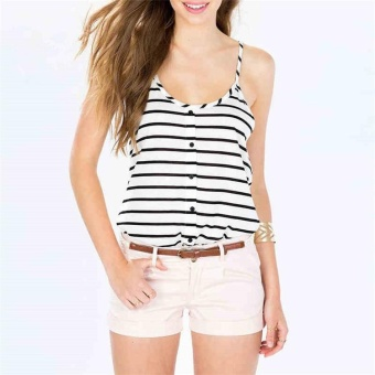 0595a453e6ca7 Yoins Women New High Fashion Clothing Casual Sleeveless Round Neck Floral Cami  Top - intl ...