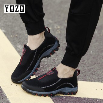 YOZO Mom And Dad Walking Shoes Running Safety Shoes Men Shoes Women Shoes Comfortable Walking Casual Shoes Lover Shoes Breathable Slip On Outdoor Shoes - intl