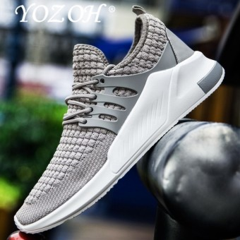 YOZOH Men'S Running Shoes Cool Light Breathable Sport Shoes For Men Sneakers For Outdoor Jogging Walking Shoe - intl