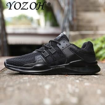 YOZOH Running Shoes Sneakers Fly Sport Sneaker Men Cheap Superestrella Light Runing Slip-On Hard Court Massage - intl