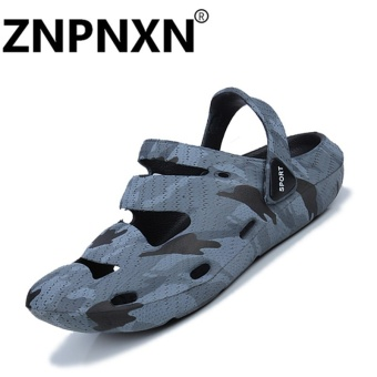 ZNPNXN Couple Sandals Casual Couple Breathable Shoes Comfortable Sandals(Camouflage) - intl