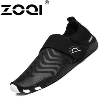 ZOQI Fashion Surfing Shoes Outdoor Swimming Water SportShoes(black) - intl