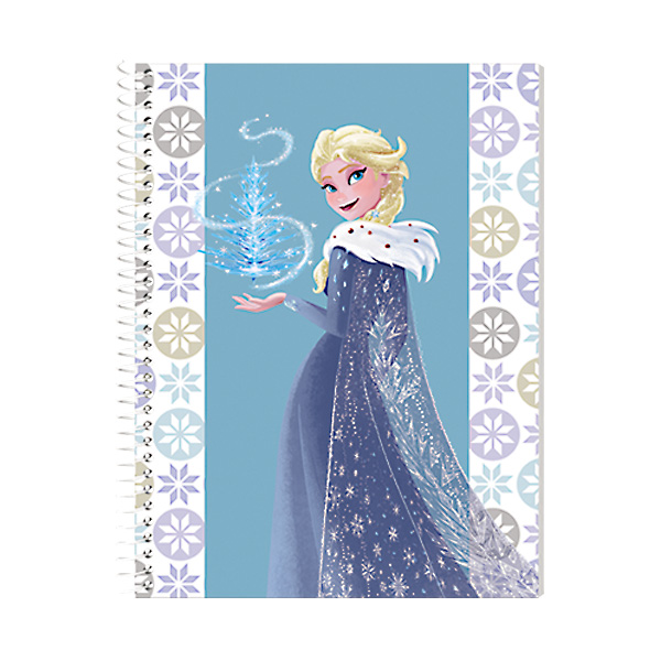 Image of Orions Frozen Spiral Notebook Set of 10