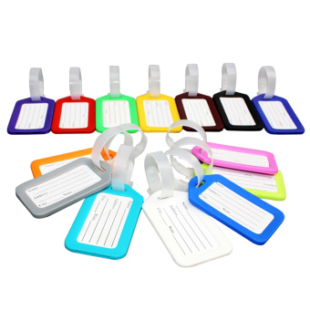 10 PCS Travel Accessories Luggage Hang Tag Identifier with NameCard
