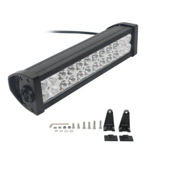 12 Inch 72W LED Light Bar Combo Off-road for Trackor Boat MilitaryEquipment Work Bar Light Car Fog Lamp - intl