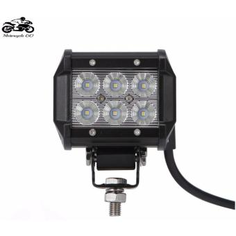 18W Cree Chips LED WORK LIGHT BAR Offroad 12V 24V Auto Car Motorcycle Bicycle SUV ATV UTE Truck Trailer Spot Flood Fog Driving Lamp