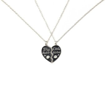 Where to buy 2 parts broken heart shaped pendants necklaces set with where to buy 2 parts broken heart shaped pendants necklaces set with lobster clasp personalized fine jewelry gift for best friend 45cm in philippines april aloadofball Gallery