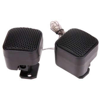 2Pcs Universal Car Audio Loud Speaker Tweeter - intl