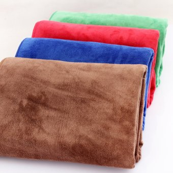360DSC Microfiber Towels Car Cleaning Cloth Absorbent Fast Drying -Brown Price Philippines