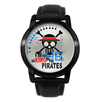 'Anime LED Touching Screen Waterproof 100M Boys'' Fashion Watches(Color:ONE PIECE)'